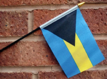 HAND WAVING FLAG (SMALL) - Bahamas